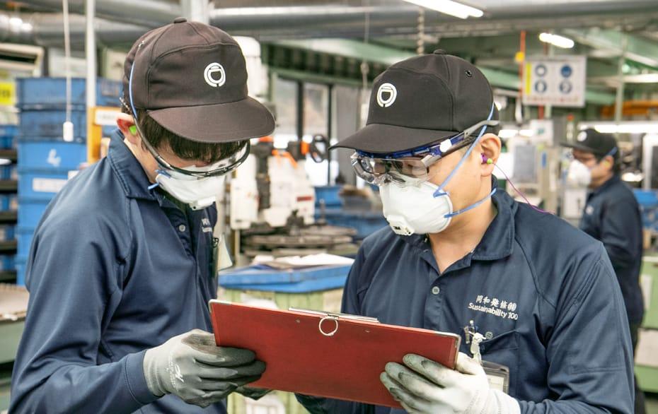 大工場ではないので、仲間とコミュニケーションが取りやすい